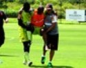 Primeiro susto: Jumar se machuca em treino da pré-temporada