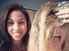 Bárbara Borges posta foto fazendo luzes: 'Depois de 3 meses sem cuidar'