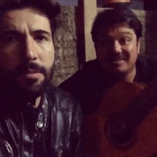 Sandro Pedroso com o irmão (Foto: Reprodução/Instagram)