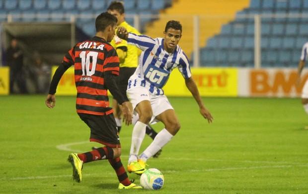 Diego Felipe Avaí Atlético-GO (Foto: Jamira Furlani / Avaí FC)
