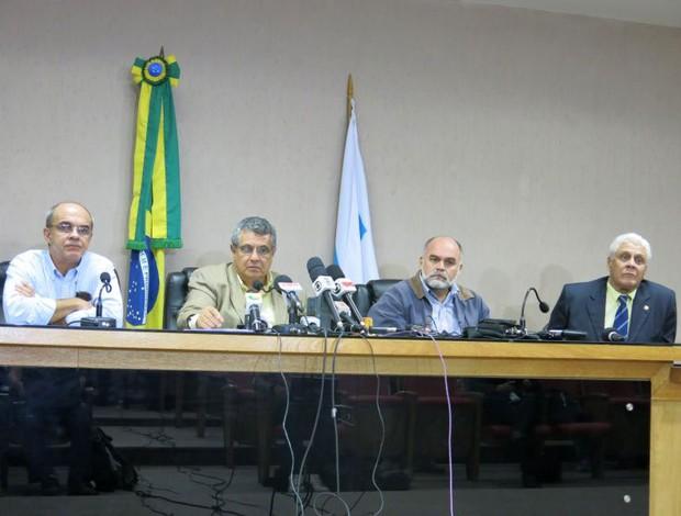 Reunião FERJ (Foto: Edgard Maciel)
