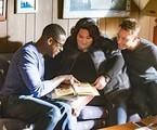 Sterling K. Brown, Justin Hartley, e Chrissy Metz en 'This is us' | Reprodução