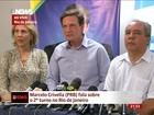 'Pesquisa foi uma catástrofe', diz Crivella ao ir para 2º turno no RJ