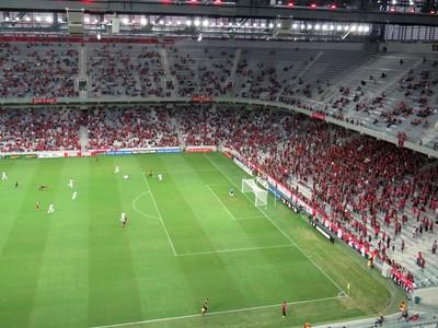 Arena da Baixada Atlético-PR JMalucelli (Foto: Fernando Freire)