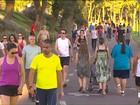 Curitiba tem o dia mais quente de 2016 com 33,4ºC, segundo o Simepar