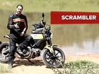 Ducati Scrambler: primeiras impressões