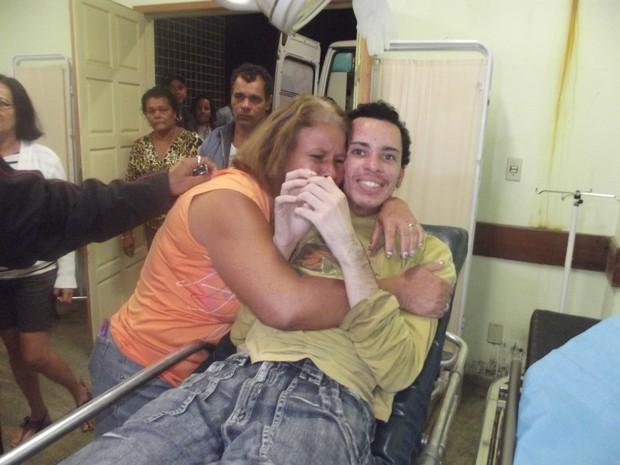 reencontra paciente (Foto: Heitor Moreira/G1)