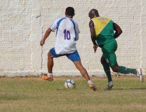 Santa Cruz-RN já realizou um jogo-treino contra a seleção de São Bento do Trairi (Foto: Alex Santos/Divulgação)