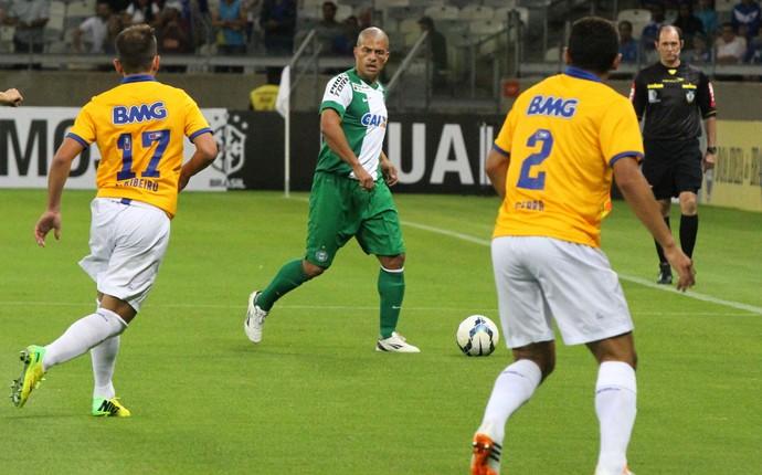 Alex, na partida do Coritiba contra o Cruzeiro (Foto: Divulgação/ Site oficial Coritiba)