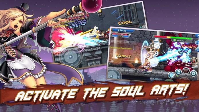 Visual de anime e combos incríveis são os destaques desse jogo para Android (Foto: Divulgação)