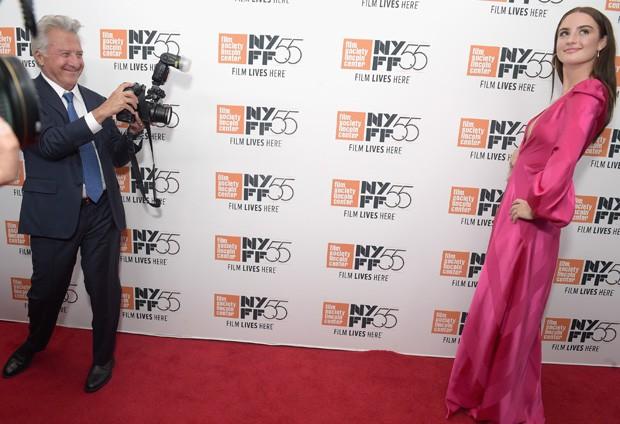Dustin Hoffman e Grace Van Patten (Foto: Getty Images)