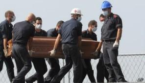 Polícia italiana investiga suspeito de participar de abusos contra imigrantes (Foto: AP)