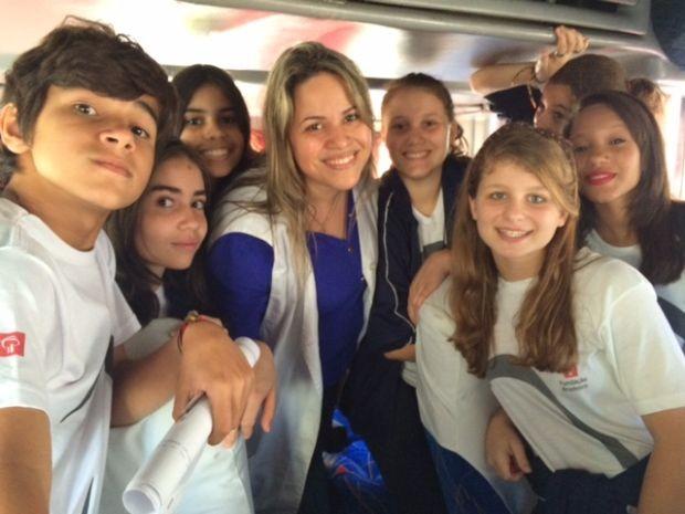 Daniela quer trazer novas experiências para seus alunos (Foto: Daniela Rojas / arquivo pessoal)