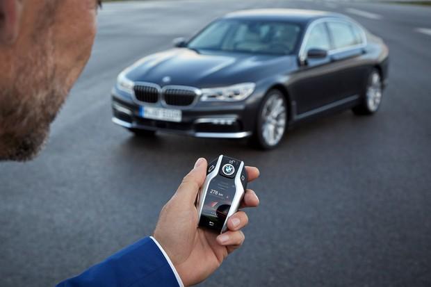 Chave BMW Série 7 (Foto: DIVULGAÇÃO)