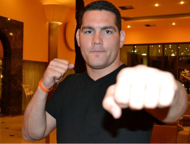 Chris Weidman MMA UFC (Foto: Adriano Albuquerque/SporTV.com)