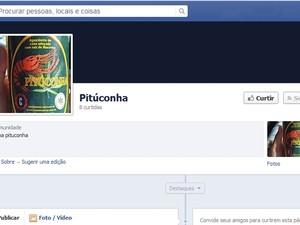 Comunidade no Facebook da Pituconha (Foto: Reprodução / Facebook)