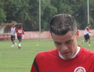D'Alessandro, treino Inter (Foto: Tomás Hammes / Globoesporte.com)