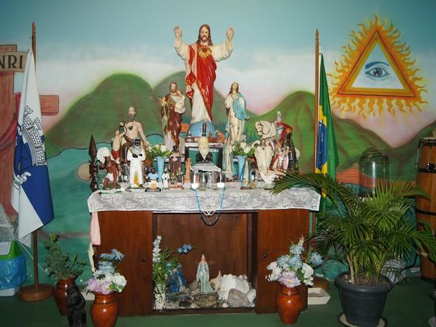 Diferentes religiões abrem as portas de seus templos para a JMJ, no Rio de Janeiro (Foto: Tássia Thum/G1)