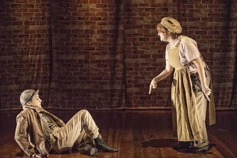 'Oliver Twist' tem montagem primorosa (Foto: Victor Iemini/Divulgação)
