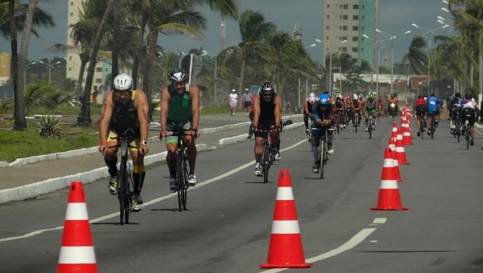 Triatlo Chalenge Maceió (Foto: Viviane Leão/GloboEsporte.com)