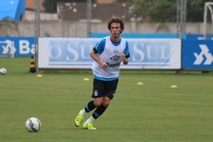 Galhardo Grêmio (Foto: Eduardo Moura/GloboEsporte.com)