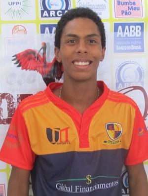 Cairo Hilbert, piauiense convocado para Seleção de Rugby (Foto: Reprodução/Facebook)
