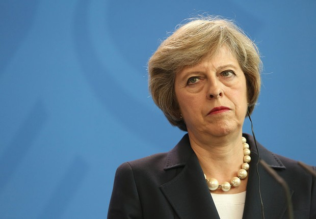 A primeira-ministra britânica Theresa May (Foto: Adam Berry/Getty Images)