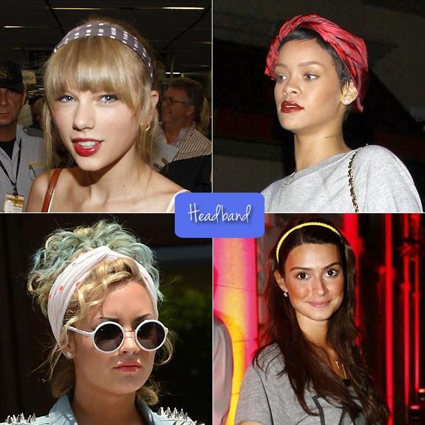 Headband (Foto: Arte QUEM)