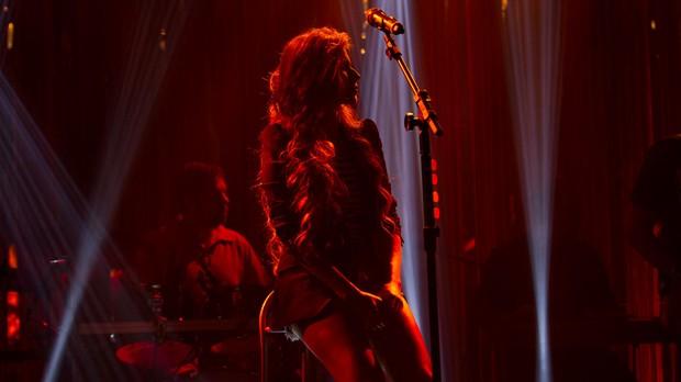 "Paula Fernandes ensaia para o ""Msica Boa Ao Vivo"" (Foto: Andr Bittencourt)"