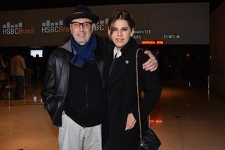 Hector Babenco e Bárbara Paz em show em São Paulo (Foto: Caio Duran/ Ag. News)