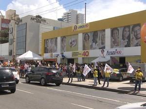 Inaugura Comitê Lídice;bahia (Foto: Reprodução/TV Bahia)