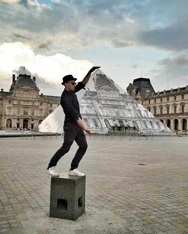 O segredo por trás do truque é a ilusão de ótica com as perspectivas (Foto: Reprodução/Instagram)