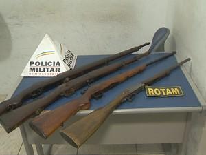 armas militar reformado jf (Foto: Reprodução/TV Integração)