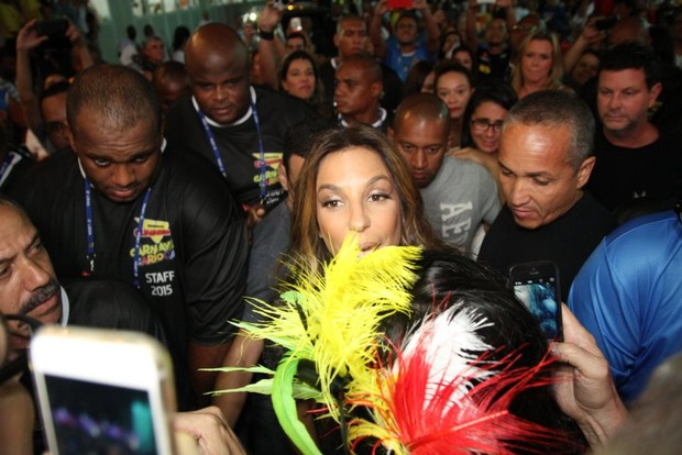 Ivete Sangalo (Foto: Daniel Pinheiro/ AgNews)