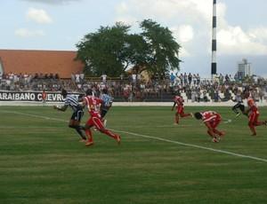 Treze e Auto Esporte - campeonato paraibano (Foto: Divulgação / Treze)