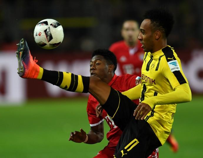 Aubameyang Borussia Dortmund Bayern (Foto: AFP)