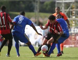 Time do Atlético-PR contra o Rio Branco-PR (Foto: Divulgação/Site oficial do Atlético-PR)