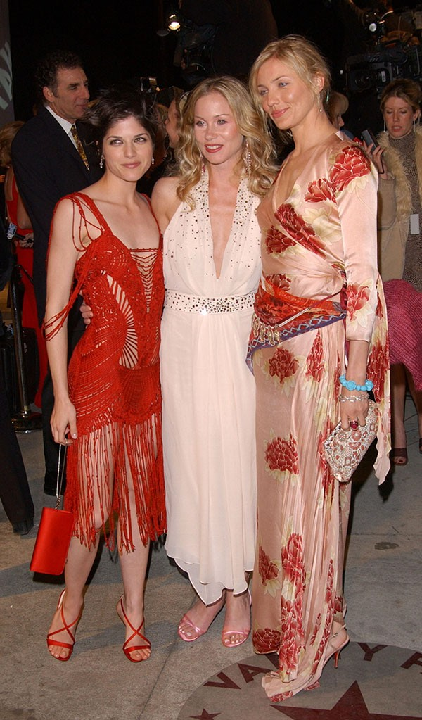 Selma Blair, Christina Applegate e Cameron Diaz (Foto: Getty Images)