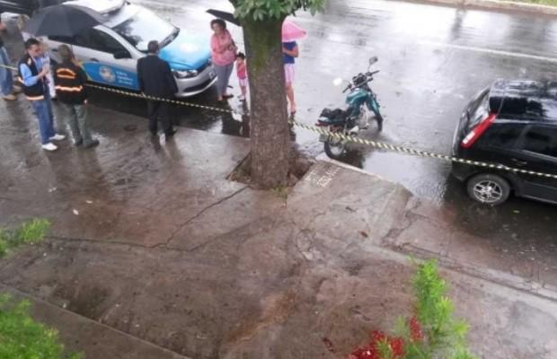 Policial Civil, morte, Goiânia, Goiás (Foto: Wildes Barbosa/O Popular)