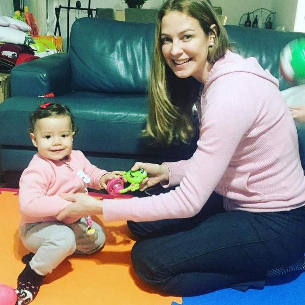 Luana Piovani com a filha, Liz (Foto: Reprodução / Instagram)