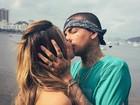 MC Guimê posta foto beijando Lexa: 'Teu beijo és minha cura'