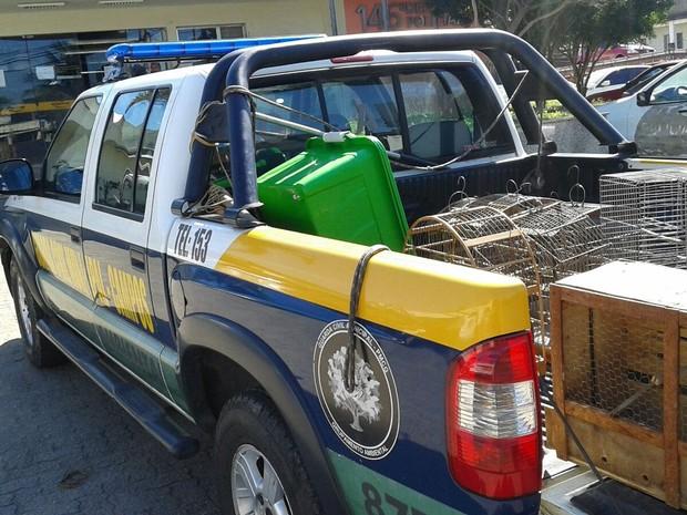 Grupamento Ambiental, criado há três anos, já resgatou mais de 1.200 animais silvestres (Foto: Divulgação/ Ascom)
