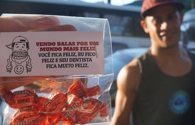 Exemplo de ação produzida pelos publicitários (Foto: Divulgação)