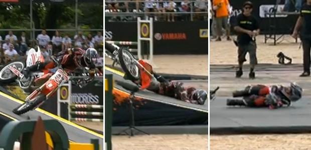 Henrique Balestrin zoio motocross frames 2 (Foto: Reprodução)