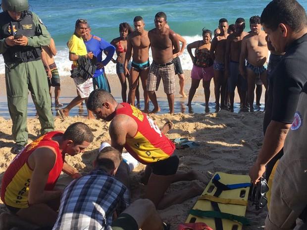 Vítima não resistiu e acabou falecendo em Salvador (Foto: Divulgação / SSP)