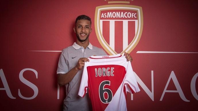 Monaco anuncia Jorge Flamengo (Foto: Divulgação)