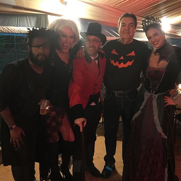 Faustão no Halloween (Foto: Reprodução/ Instagram)