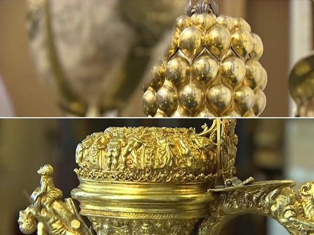 Museu inglês recebe 'tesouro' de peças de prata (Foto: BBC)