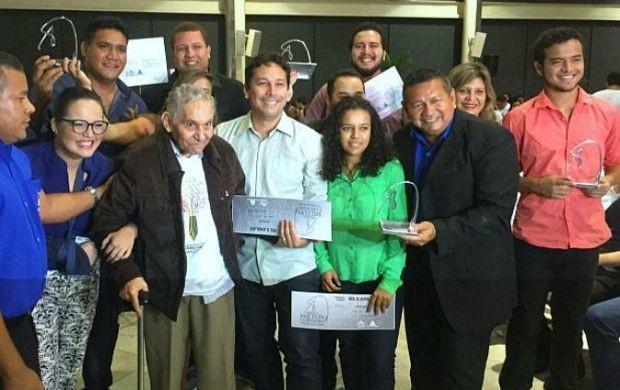 Vencedores do 21º Seminário de Jornalismo na Amazônia (Foto: Sérgio Rodrigues/ G1 AM)