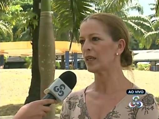 Ana Mendes, coordenadora da Mostra, fala sobre a programação (Foto: Amazônia TV)